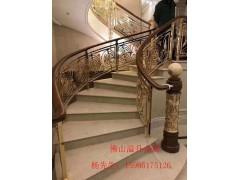 后現代樓梯扶手有什么樣的 找佛山溢升樓梯護欄廠家