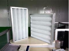 空调机组净化空气板式初效过滤器 效率G4初效无纺布过滤器