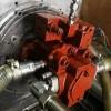 維修中聯泵車臂架泵川崎K7V63S