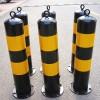 反光條警示防撞柱 熱鍍鋅鋼管防撞隔離柱