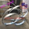 不锈钢圆弧形天花吊顶背景墙装饰条 u型包边侧面拉弯圆形