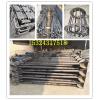 Q235材质Q345/16猛地脚双头U型丝预埋件钢结构连接件