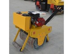 手扶式单钢轮压路机 600双轮压实机 小型单轮沥青压平机