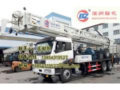 车载水井钻机BZCY400YQ一汽车装双动力循环钻机