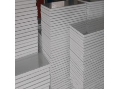100mm泡沫夹芯板 阻燃彩钢泡沫板 高密度泡沫夹芯板定制