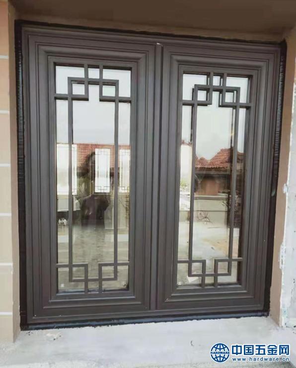 别墅中式铝合金门窗 (3)