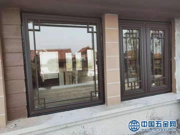 别墅中式铝合金门窗 (8)