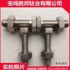 現貨供應鈦標準件 TA2鈦螺栓 鈦螺母 高強度鈦螺絲