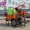 HZQ-20T拖車式混凝土鉆孔取芯機 輪式小型公路鉆孔取芯機