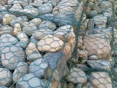 高尔凡石笼网/包塑石笼网/石笼网格宾网