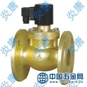 ZQDF-F直动活塞式蒸汽法兰电磁阀