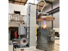 立式升降式曲线自动控温钢水包烤包炉
