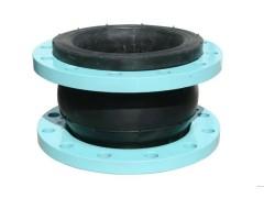 橡膠接頭安裝后可降低管道水泵等震動產生的噪音,吸振能力強。