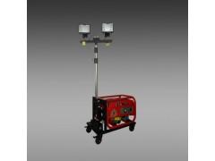轻型升降泛光灯 手动升降移动照明灯 小型移动照明车