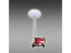 移动充气式月球灯 球形照明车 工程照明灯