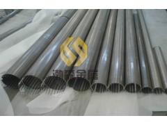 不銹鋼條縫篩網 高精度不銹鋼反卷帶加強筋篩管
