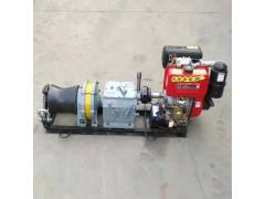 内江市三吨柴油机动绞磨价格八吨定制款风冷绞磨机器