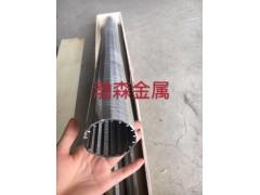 不锈钢缠丝过滤管304不锈钢楔形筛管
