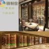 深圳酒店定做不锈钢恒温酒柜摆件厂家