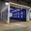 电动伸缩移动喷漆房 免费设计方案技术支持