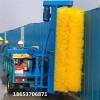 小型高压清洗车 工地围挡护栏彩钢板清洗车售后保障