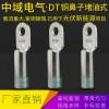 国标厂标规格齐全DT-150平方堵油铜鼻子电缆线铜接头