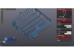 洗碗机网篮三维扫描检测,中科广电三维检测服务