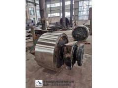 双辊制砂机辊皮  1500鹅卵石对辊制砂机 煤炭破碎机齿板