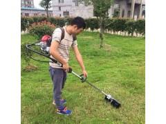 側掛式除草機充電式電動割草機背負式割灌機