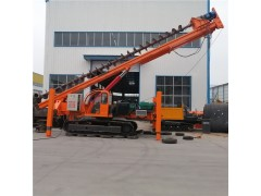 15米長螺旋打樁機價格 18米長螺旋打樁機多少錢 騰萬機械