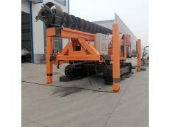 长螺旋地基打桩机 20米长螺旋钻机 履带式打桩机13米