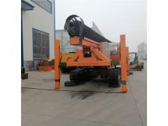 10米螺旋打桩机 12米长螺旋钻孔机 20米长螺旋CFG钻机