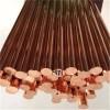 供應T2國標紫銅棒  TU2導電用無氧銅棒