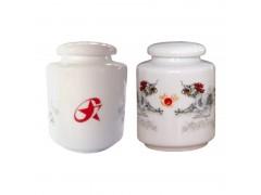 小號白瓷茶葉罐  定制陶瓷茶葉罐廠家