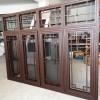 铝合金仿古花格中式门窗 冠墅阳光新中式风格门窗源头厂家定制