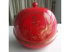 喜慶風格陶瓷食品罐   中秋禮品陶瓷食品罐套裝