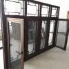 重慶仿古門窗定制 冠墅陽光中式仿古門窗鋁合金材質傳三代不過時