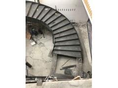 成都溫江鐵藝旋轉樓梯和扶手