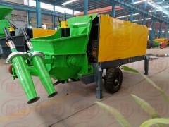 河南厂家生产隧道双喷头湿喷机16C液压泵送湿喷台车