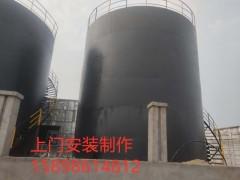 1000立方消防水罐價格  500T立式水罐安裝