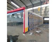 露天移動伸縮噴漆房 設備特點應用案例