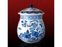 定制陶瓷茶葉罐 中秋禮品陶瓷茶葉罐套裝
