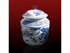 定制陶瓷茶葉罐套裝  景德鎮廠家供應陶瓷茶葉罐
