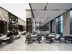 西安中式风格售楼部装修效果图