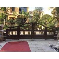 庭院铝艺大门 铝艺围栏栏杆