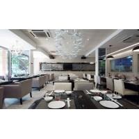 西安科技路餐厅设计装修效果图