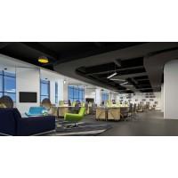 西安创意风格办公室设计效果图