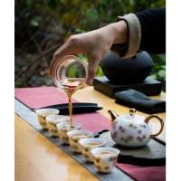 景德镇高白瓷茶具礼品套装 功夫茶具盖碗碗茶壶茶具套装